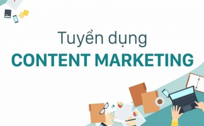 Tuyển dụng thực tập sinh Content Marketing (Content Intern)