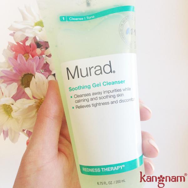 Sữa rửa mặt phục hồi da Murad Soothing Gel cleanser