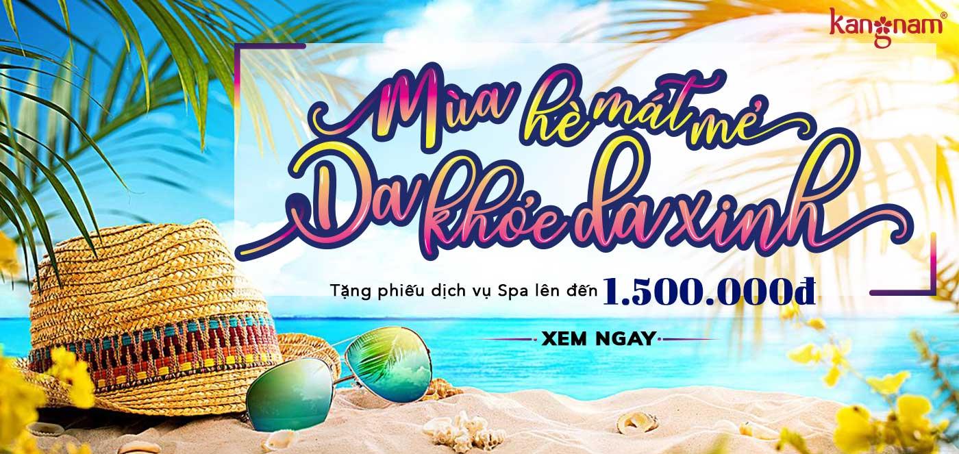 Khuyến Mãi Spa Kang Nam Tháng 7