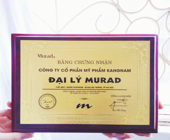 cách phân biệt tem Murad thật giả