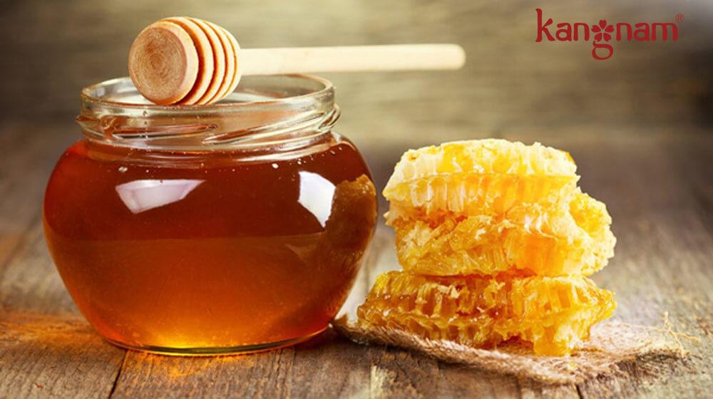 Mật ong giúp làm dịu vết thương hiệu quả