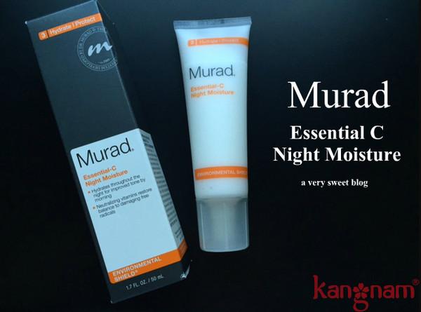 kem dưỡng da ban đêm Murad có gây kích ứng da không