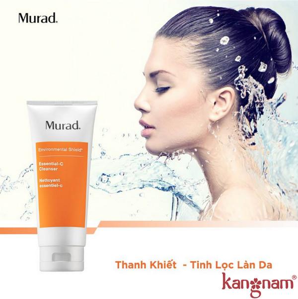Sữa rửa mặt làm khỏe da Murad có tốt không
