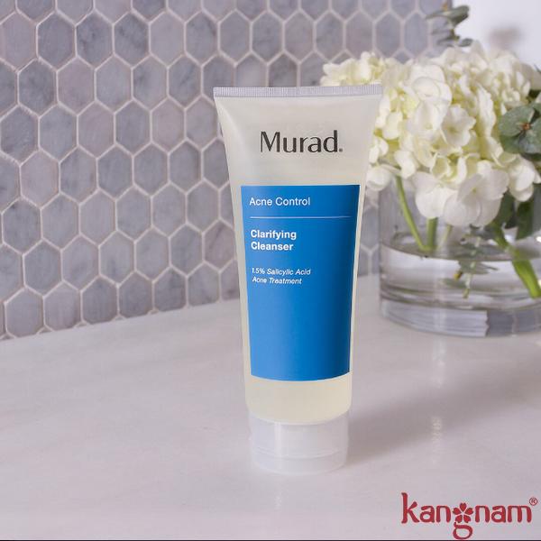 Murad Clarifying Cleanser công thức tạo bọt giúp đánh bay bụi bẩn hiệu quả