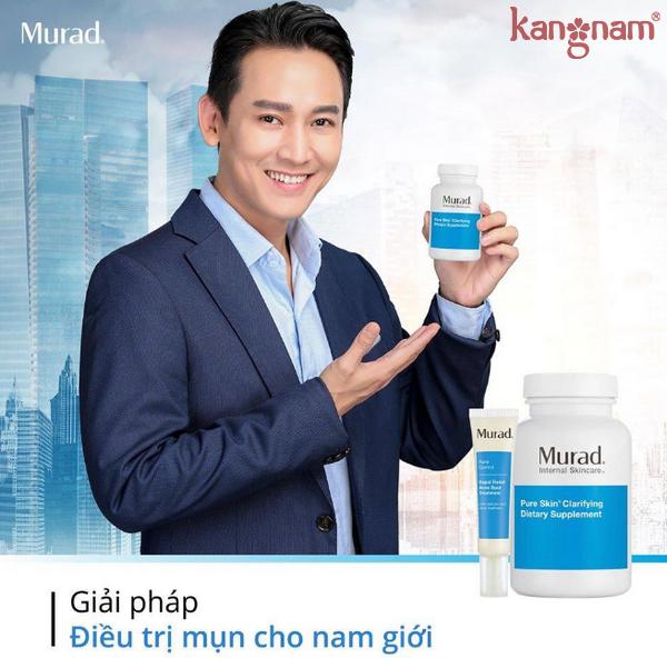 Viên uống giảm mụn Murad Pure Skin Clarifying Dietary Supplement