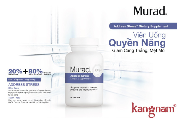 Viên uống giảm căng thẳng Murad Address Stress
