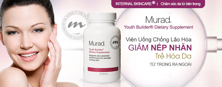 Viên uống Collagen trẻ hóa da Murad Youth Builder Collagen Supplement